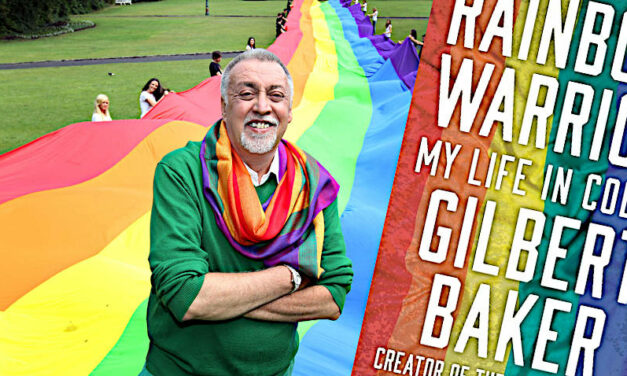 Gilbert Baker's Fabulous, Beautiful,  Powerful Memoir of Pride's Defining Symbol