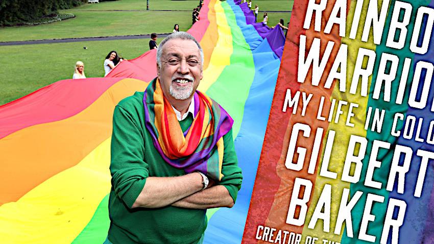 Gilbert Baker's Fabulous, Beautiful,  Powerful Memoir of Pride's Defining Symbol