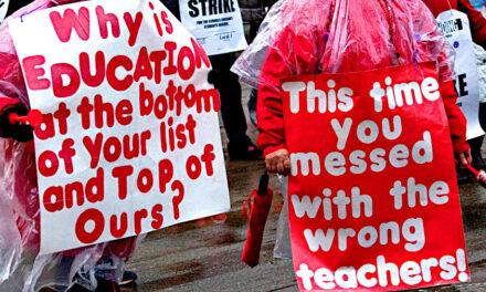 Chicago Public School Teachers Walk Out