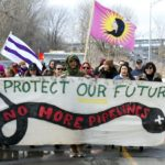 Kahnawake Moves Wet'suwet'en Solidarity Fire, Lifts Rail Blockade