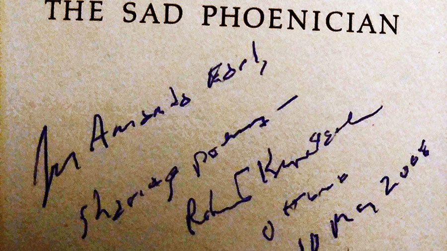 """""""Notes on The Sad Phoenician's Other Woman: Experiencing Robert Kroetsch's Poetry In A Fever"""" by Amanda Earl"""